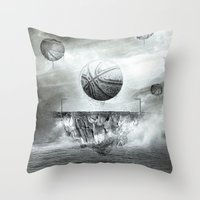 1891 - Basketball Throw Pillow
