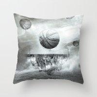 1891 - Basketball Throw Pillow