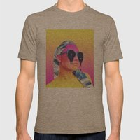 stargazer Mens Fitted Tee Tri-Coffee SMALL