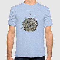 Sr Coprofago - Beetle Sh… Mens Fitted Tee Tri-Blue SMALL