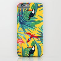 tropical yellow  iPhone 6 Slim Case