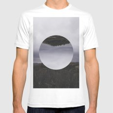 Nowhere Mens Fitted Tee White SMALL