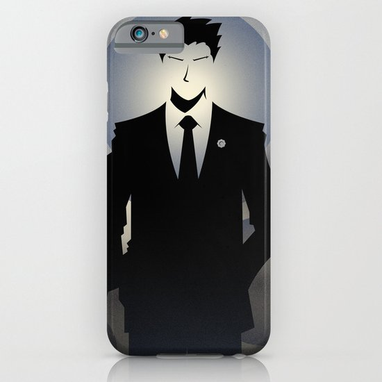 Phoenix Wright - 10th Anniversary Print iPhone & iPod Case