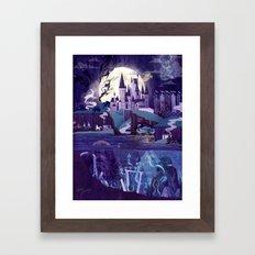 Never a Quiet Year at Hogwarts Framed Art Print
