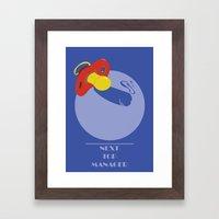 Next Top Manager Framed Art Print