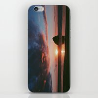 Pacific City Sunset iPhone & iPod Skin