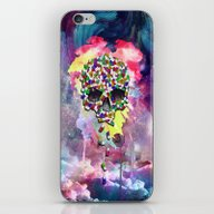 CAPSULE SKULL iPhone & iPod Skin