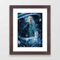 Wanna Build A Snowman? Framed Art Print