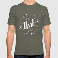 real Mens Fitted Tee Lieutenant SMALL