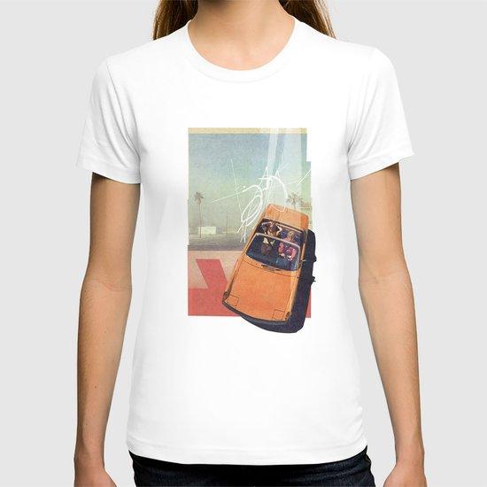 Getaway Car   Collage T-shirt