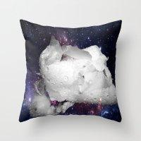 flower fantasy  Throw Pillow