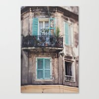New Orleans - Close Your… Canvas Print