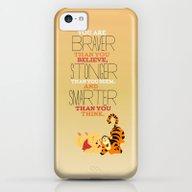 Stronger, Braver, Smarte… iPhone 5c Slim Case