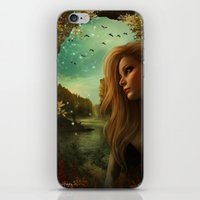 Lost in beauty iPhone & iPod Skin