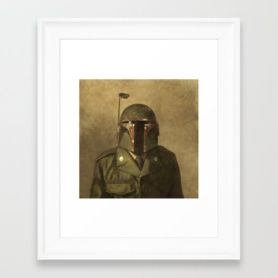 General Fettson (square format)  Framed Art Print