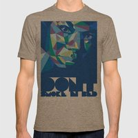 Nina Mens Fitted Tee Tri-Coffee SMALL