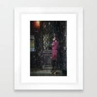 Snowscape II Framed Art Print