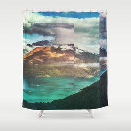 Shower Curtain - Fractions A32 - Seamless