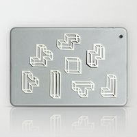 Tetris Papercut Laptop & iPad Skin