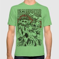 He who consumes Mens Fitted Tee Grass SMALL