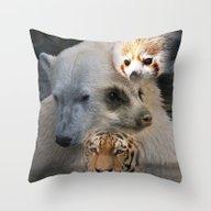 Wild Mix 1 Throw Pillow