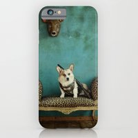 iPhone & iPod Case featuring The Deer Hunter by Carla Broekhuizen