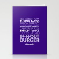 Los Angeles — Delicious City Prints Stationery Cards
