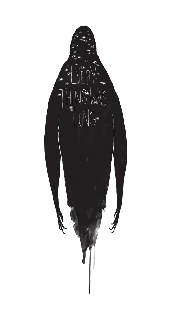 Everything Was Long Art Print