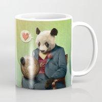 Wise Panda: Love Makes T… Mug