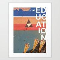 Education - Prepare For … Art Print