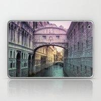 Ponte dei Sospiri | Bridge of Sighs - Venice (colored version) Laptop & iPad Skin