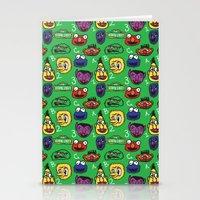 Sesame Street Pattern Stationery Cards