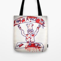 Swedish Chef Unrated Tote Bag