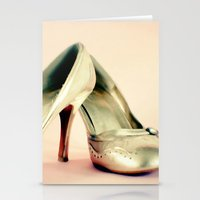 I love my gold shoes 1 Stationery Cards