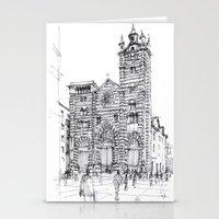 Cattedrale Di Genova Sch… Stationery Cards
