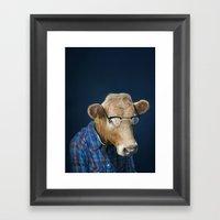 Geekow Framed Art Print