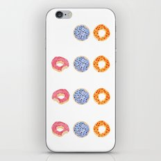doughnut selection iPhone & iPod Skin