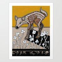 Mama Trifolium Art Print