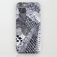 Zentangle 01 iPhone 6 Slim Case