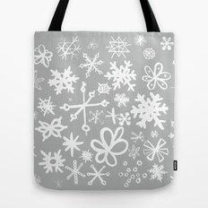 Snowflake Concrete Tote Bag