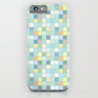 Pastel Squares iPhone 6 Slim Case