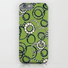 Honolulu hoopla green iPhone 6 Slim Case