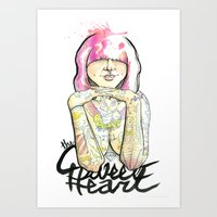 Sweet Heart Art Print