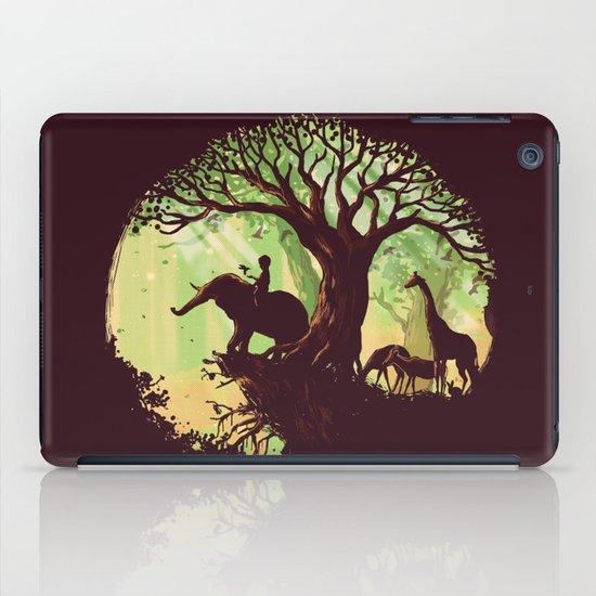 The jungle says hello iPad Case