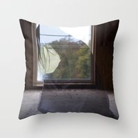 """""""She Was Stuck In A Th… Throw Pillow"""