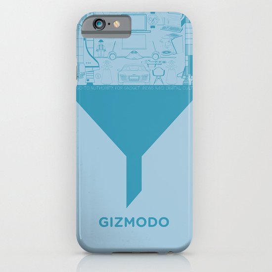 Essence Of Gizmodo iPhone & iPod Case