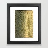 Snakeskin Framed Art Print