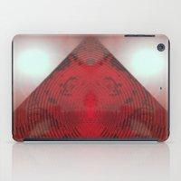 FX#412 - Red Pyramid Bright iPad Case