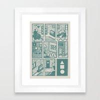 Squential Print Framed Art Print