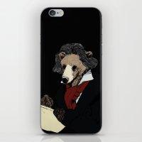 Bearthoven iPhone & iPod Skin